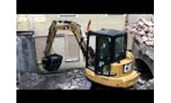 Where`s the Crusher Now? The MB-C50 Crusher Bucket at Work in a Bavarian Residential Area Video