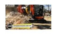 MB-C50 - MB-S10 - Kubota U55-4 - Slovenia - Recycling - Demolition waste - Concrete and Asphalt Video