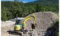 Jaw bucket crushers solution for maintenance of parkland, farmland and woodland sector