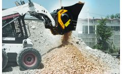 Jaw bucket crushers solutions for recycling and composting industry
