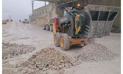 Jaw bucket crushers solution for urban job site and road works areas
