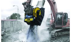 Jaw bucket crushers solution for demolition industry