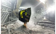 Jaw bucket crushers solutions for tunnels and enclosed spaces areas