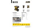 MB Crusher MB-R700 Drum Cutter - Brochure