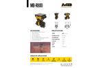 MB Crusher MB-R800 Drum Cutter - Brochure