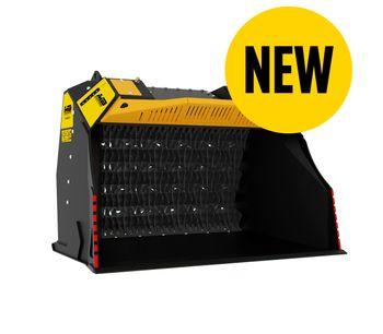 MB Crusher - Model MB-HDS523 - Brand new shafts screener
