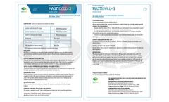 Mastidoll - Model 3 - Inactivated Vaccine for Protection Against Subclinical and Clinical Mastitis - Brochure