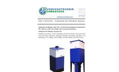 Vzduchotechnik - Model POC 14/20/30 - Industrial Air Filtration System Brochure