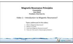 Vista Clara - Magnetic Resonance Introduction - Video