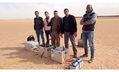 Remote training session gets surface NMR system up and running quickly in Algeria