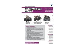 Netafim - Nylon and PVC Valves - Brochure