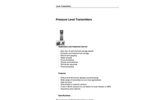 Pressure Level Transmitters Brochure