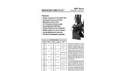 Model M3L Low Pressure Liquid End Brochure