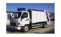 Guvenc - Model 5-7+1m3 - Waste Compactor