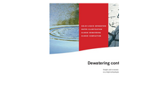 Dewatering Containers Brochure