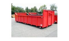 Roll-Off Dewatering Container