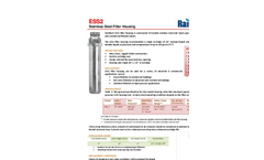Model RC Series - Commercial UV Systems Brochure