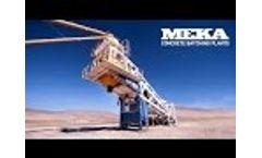 MEKA Mobile Batching Plant Video