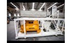 Automatic Mixer Washing System - MEKA Concrete Plants Video