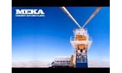 Meka Concrete Batching Plants Company Profile Video