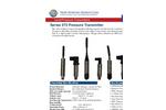 Model 575 Series - Pressure Transmitters Brochure