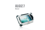 Algiz 7 - Rrugged Tablet PC for Outdoor Environments - Manual