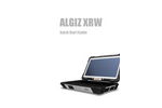 Algiz XRW - Rugged Notebook Computer for Outdoor Conditions - Quick Start Guide