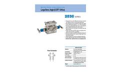 NOSHOK - Model 2530 Series - 2-Valve Natural Gas Manifold Valves Large Bore, Angle - Brochure