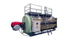 ATTSU - Model RLAS - Horizontal Superheated Water Boiler
