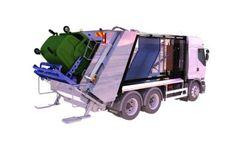 Hydraulic Pressing Garbage Truck