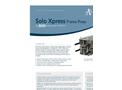Almex Solo Xpress - Lightweight, Portable Frame Vulcanizer Press Datasheet