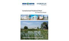 Hydroflux MENA Water - Model WTP - Package Potable Water Treatment Plants - Brochure