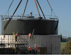 BioCap® Gas Collection Digester Covers – Floating and fixed digester roofs for bio gas storage and pressurisation