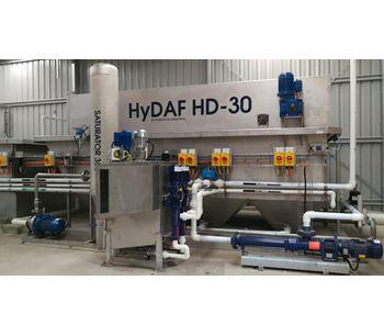 Hydroflux - Model Hy-DAF HD - Wastewater Dissolved Air Flotation System
