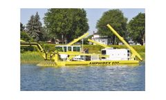 Amphibex - Model 600 - Excavator System for Shore Lines and Marine Environments