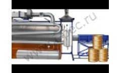 Batch Thermal Decomposition Plant (UTD-1) - Video