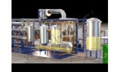 Continuous Thermal Decomposition Plant - Video