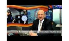 TDP-2-200 presented at international oil exhibition ADIPEC 2014 in UAE - Video