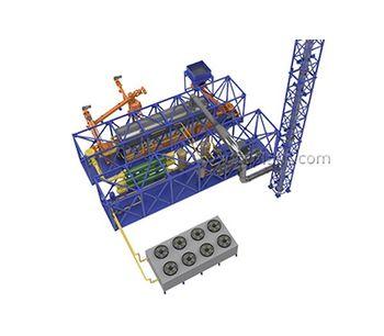 IPEC - Model TDP-2-2000 - Continuous Thermal Decomposition Plant