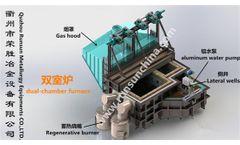 RUNSUN - Double Chamber Aluminum Scrap Furnace