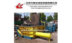 Wanshida - Model Y83-200 - Hydraulic Metal Baler/Scrap Metal Baler/Baling Press