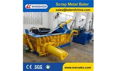 Wanshida - Model Y83-125 - Y83-125 Aluminum Cans Metal Baler/Baling Press/Compactor