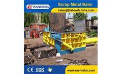 Wanshida - Model Y83-160 - Scrap Metal baler/Hydraulic Metal Baler