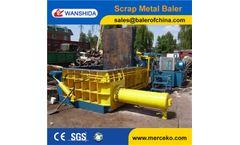 Wanshida - Model Y83-200 - Hydraulic Metal Baler
