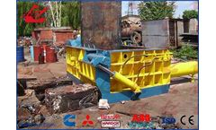 Wanshida - Model Y83-160 - Hydraulic Metal Baling Press/Scrap metal bailer/metal baler