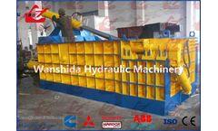 Wanshida - Model Y83-3150  - Heavy Duty Scrap Car Baler/Hydraulic Metal Balers/Compactors/Crushers