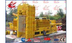 Wanshida - Model Y83Q-4000G - Metal Shear Baler/Hydraulic Baling Shear/Shearing Press/Scrap Baling Press