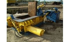 Wanshida - Model Y83-100 - Aluminum Cans Scrap Metal Baler