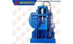 Wanshida - Model Y83/D-3000A - Remote Automatic Control Stationary Scrap Metal Baler Logger