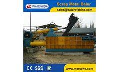Wanshida - Model Y83-250 - Scrap metal balers